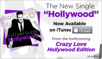 Michael Buble Hollywood Single