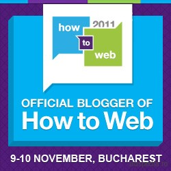 Bloger oficial How to Web 2011