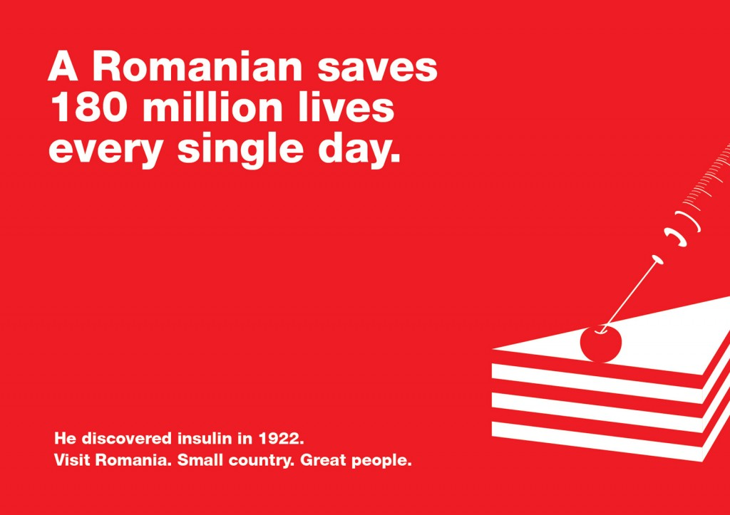 A Romanian saves 180 million lives every single day