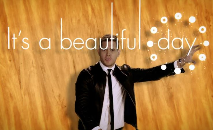 Michael Buble Its a Beautiful Day