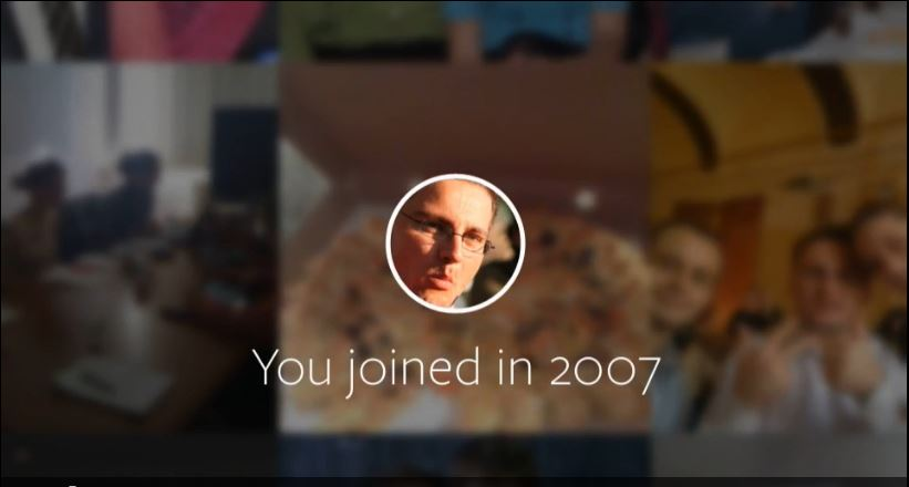 I joined Facebook in 2007
