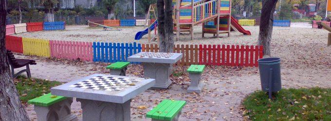Șah în parc